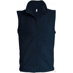 Gilet polaire brodé Officier de Port