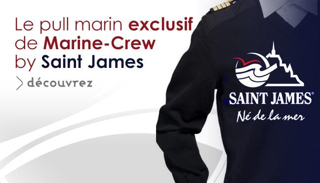 découvrez en exlucivité le plull marine de Saint James