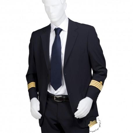 Veste d'uniforme droite, galonnée