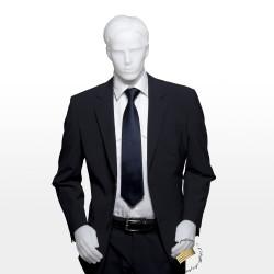 Acheter en ligne une veste de costume coupe croisée bleu marine coordonnable