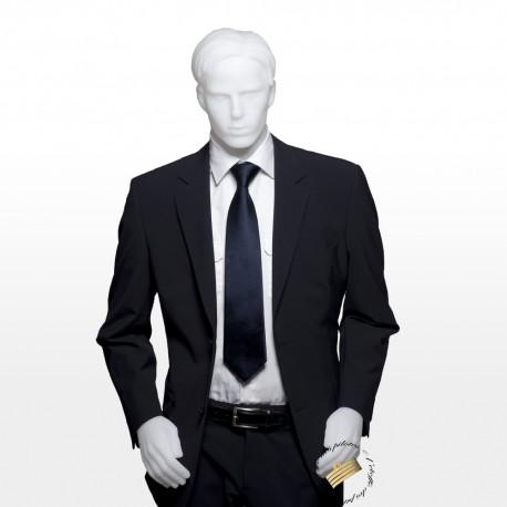 Veste de costume gris anthracite coupe droite
