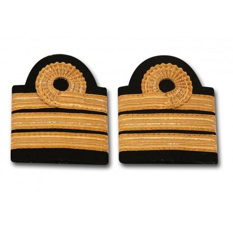 Epaulettes - Boucle Nelson - 3 galons