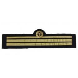 Tours de manche de veste d'uniforme Officier de port, grade Lieutenant 2ème Classe