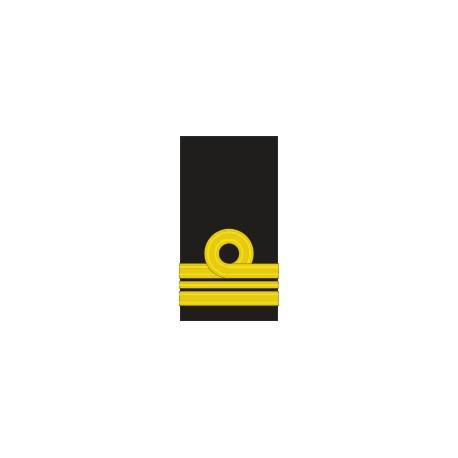 Fourreaux d'épaule Lieutenant de Vaisseau 1ère Classe Marine Belge