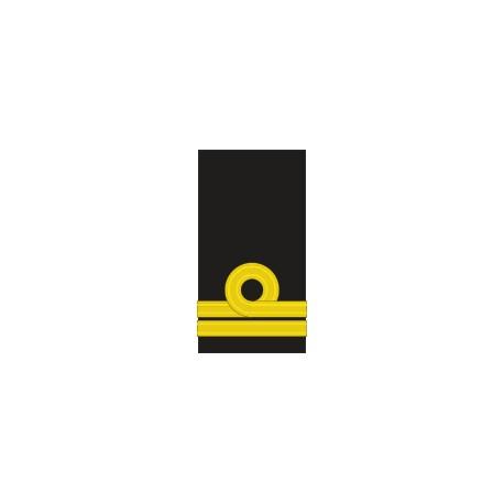 Fourreaux d'épaule Lieutenant de Vaisseau Marine Belge