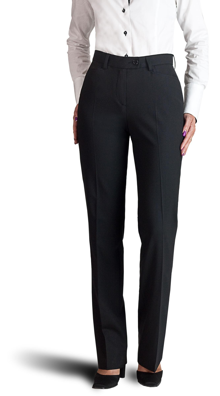f3f437558a80d Pantalon femme bleu marine, coupe sans pli, élégance et qualité