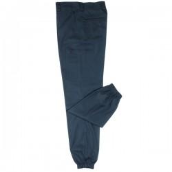 "Pantalon de""treillis"" bleu marine"