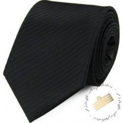Cravate - Noire - Unie