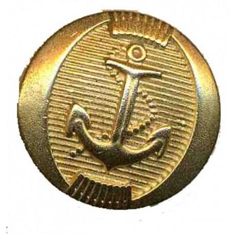 Pose de boutons Ancre Marine Dorés sur veste croisée Marine-Crew