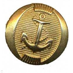 Boutons Ancre Marine dorés sur veste croisée Marine-Crew